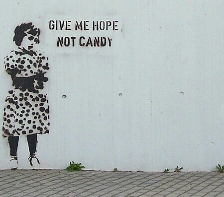 This image has an empty alt attribute; its file name is give-me-hope-not-candy.jpg